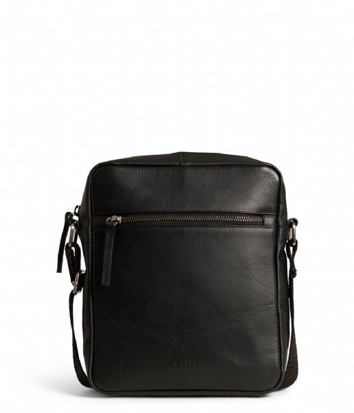 Still Nordic Crossbodytas Clean Zip Messenger black
