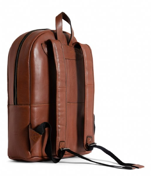 Still Nordic Laptop rugzak Clean Backpack 1 Room 15 Inch cognac