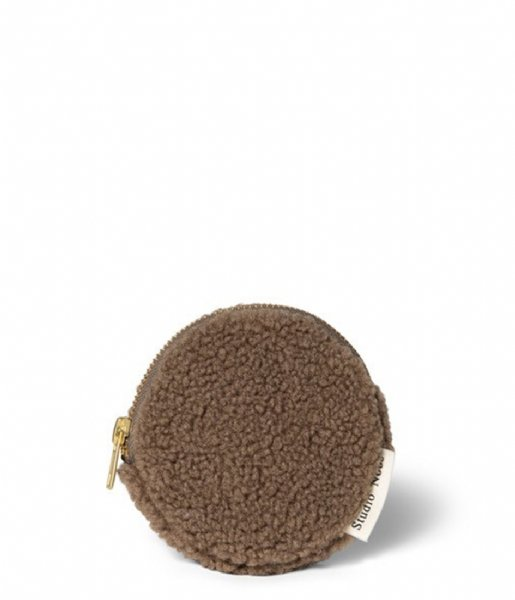 Studio Noos Ritsportemonnee Chunky Wallet brown