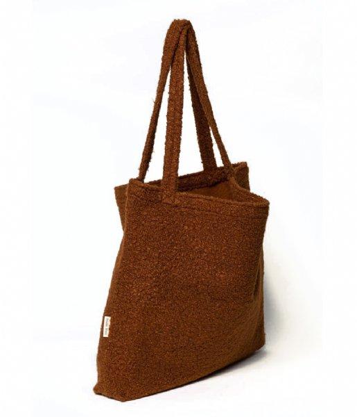 Studio Noos Shopper Boucle Mom Bag Cacao