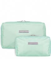 SUITSUIT Fabulous Fifties Duo Set Toiletry Bag + Make-up Bag luminous mint (26923)