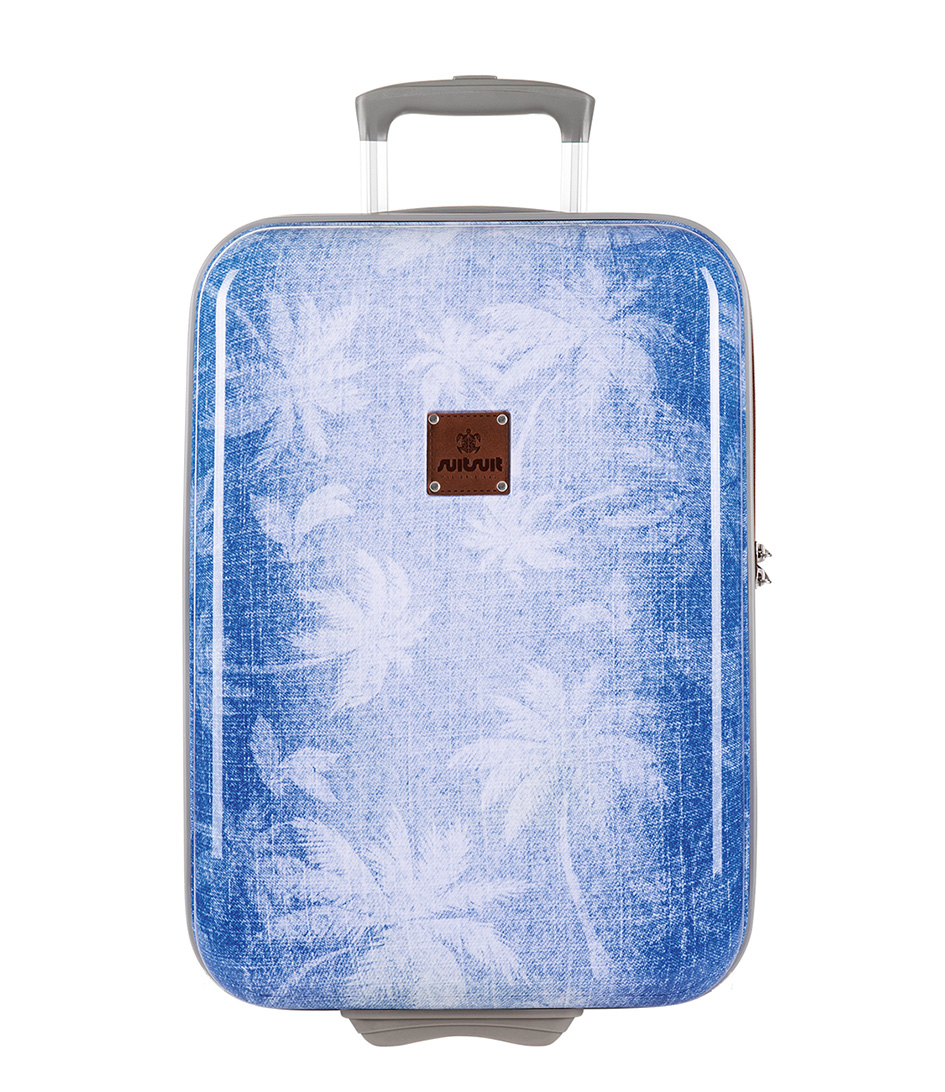SUITSUIT Koffers Coconut Denim 20 inch Suitcase Trolley Blauw