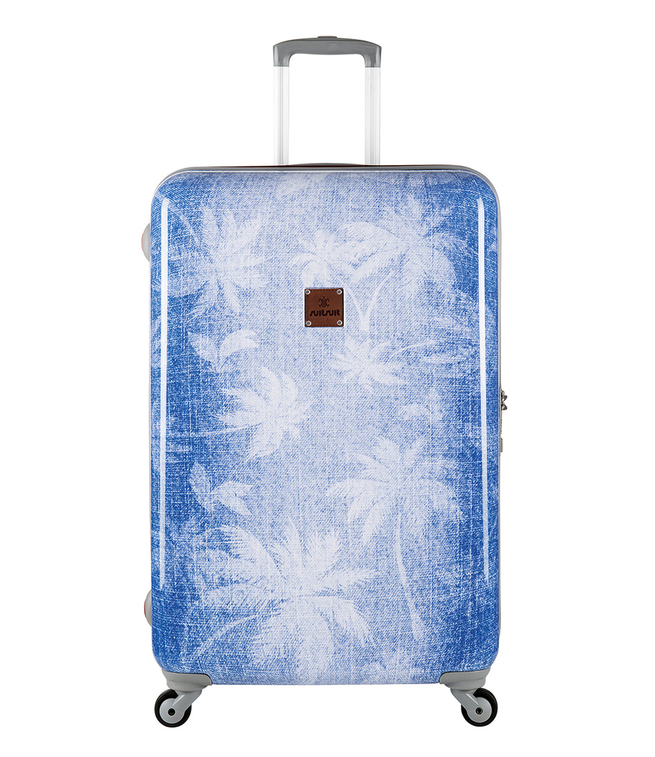 SUITSUIT Koffers Coconut Denim 28 inch Suitcase Spinner Blauw