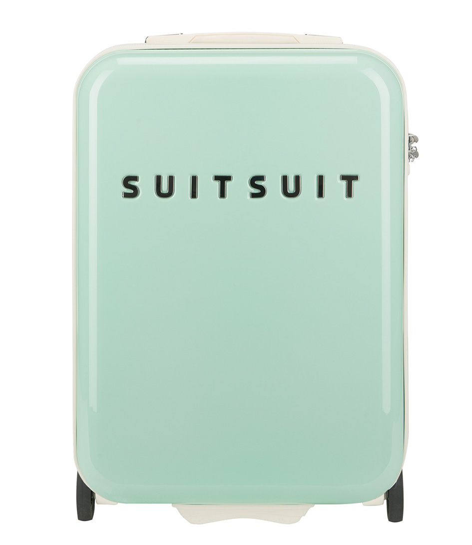 fabulous fifties 20 inch suitcase trolley lime suitsuit the little green bag. Black Bedroom Furniture Sets. Home Design Ideas