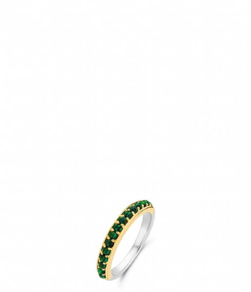 TI SENTO - Milano Ring 925 Sterling Zilver Ring 12123 Malachite (12123MA)