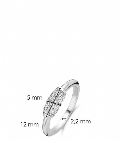 TI SENTO - Milano Ring 925 Sterling silver Ring 12192 wit (12192ZI)