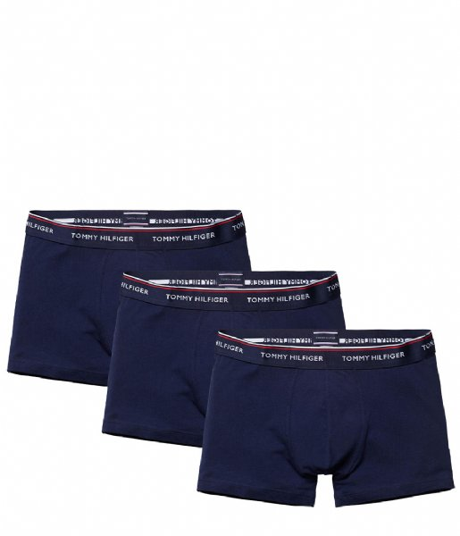 Tommy Hilfiger Boxershort 3P Trunk Peacoat (409)