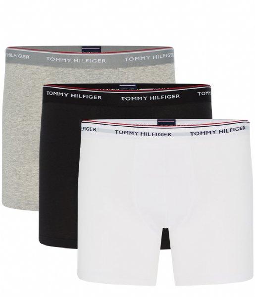 Tommy Hilfiger Boxershort 3P Boxer Brief Grey heather (004)