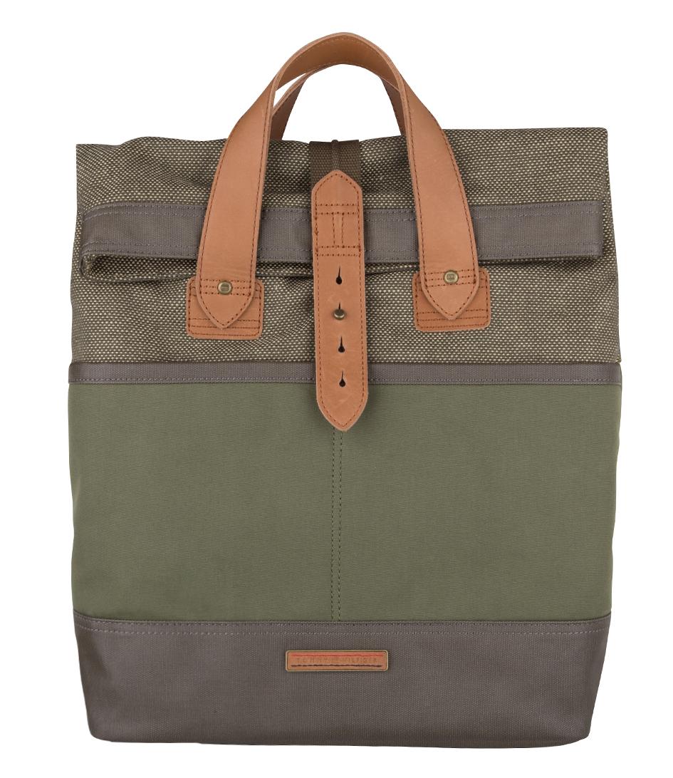 ivan tote backpack olive winter cognac 904 tommy hilfiger the little green bag. Black Bedroom Furniture Sets. Home Design Ideas