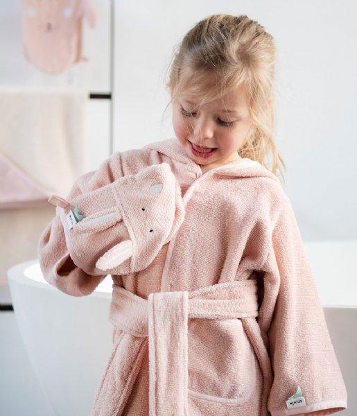 Trixie Babykleding Bathrobe , 1-2 yr - Mrs. Rabbit Pink