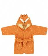 Trixie Bathrobe , 1-2 yr - Mr. Fox Orange
