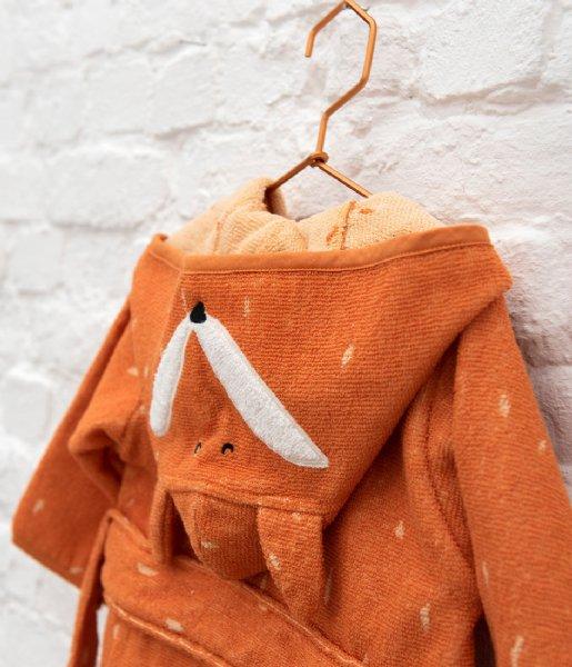 Trixie Babykleding Bathrobe , 1-2 yr - Mr. Fox Orange