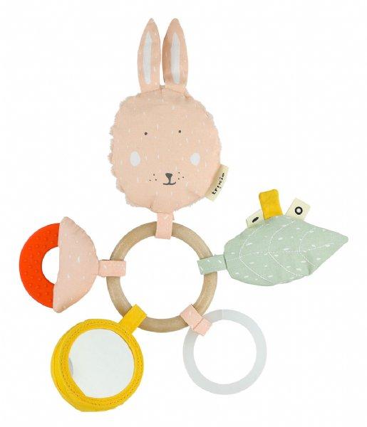 Trixie Baby Accessoire Activity Ring - Mrs. Rabbit Multi