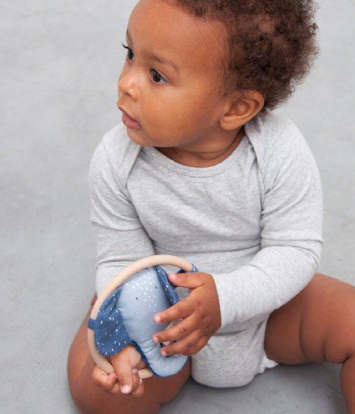 Trixie Baby Accessoire Rattle - Mrs. Elephant Blue