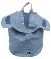 Trixie Backpack mini Mrs. Elephant Blauw