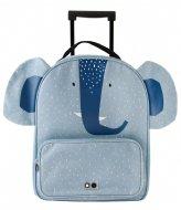 Trixie Travel Trolley Mrs. Elephant Blauw