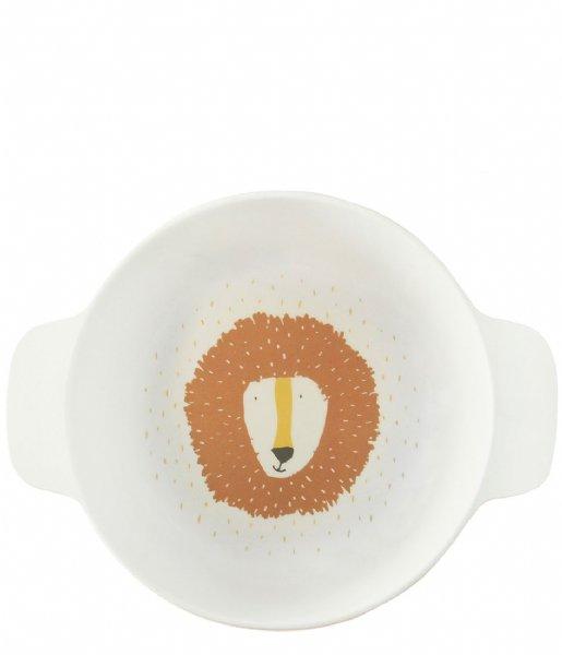 Trixie  Bowl with handles - Mr. Lion Print