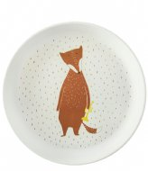 Trixie Plate - Mr. Fox Print