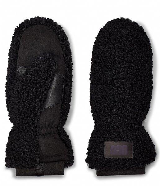UGG Handschoenen Sherpa Mitten W Logo black