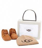 UGG Baby Neumel And Ugg Beanie Chestnut
