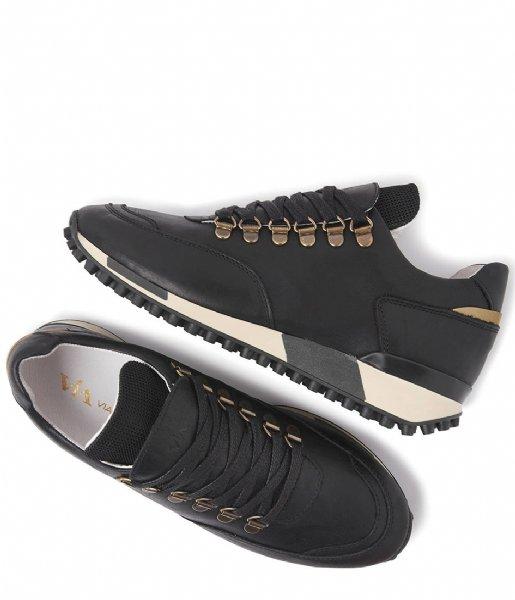 VIA VAI Sneakers Giulia Vitello Satin Nero