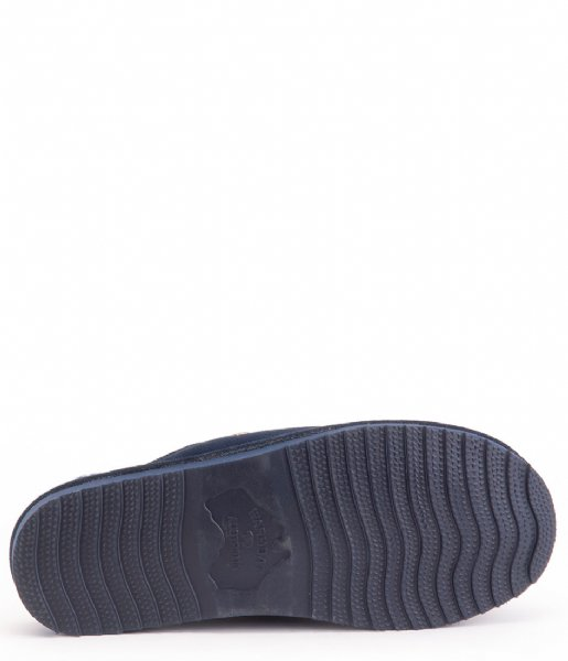 Warmbat Pantoffels Barron Men Suede Dark navy (BRR421045)