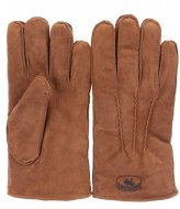 Warmbat Gloves Men Suede Cognac (GLO401025 )