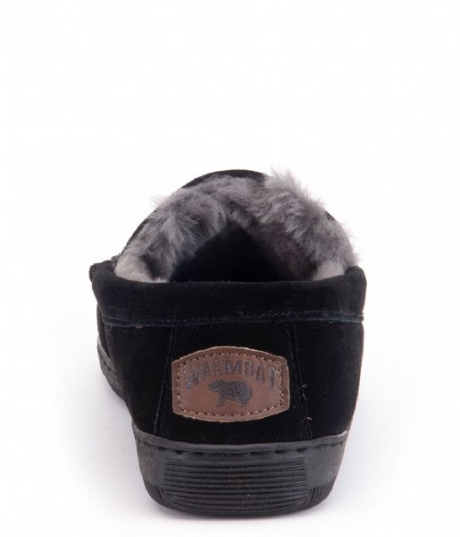 Warmbat Pantoffels Grizzly Men Suede Black (GRZ441099)